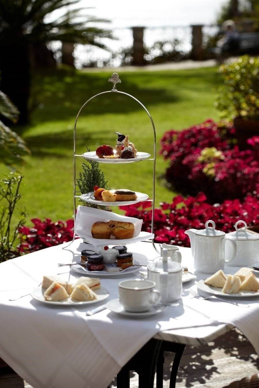 Hotel The Cliff Bay - Madeira Island - Afternoon Tea