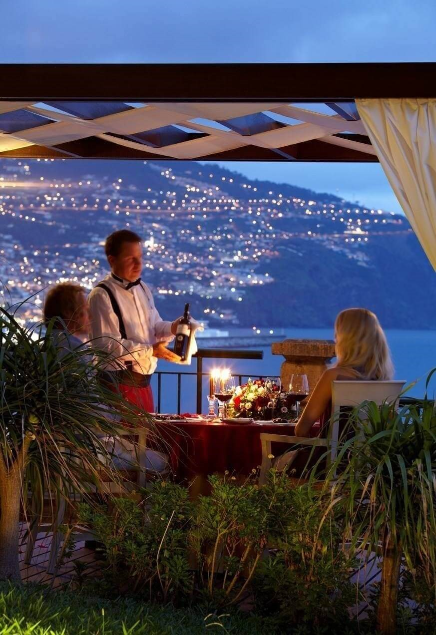 Hotel The Cliff Bay - Madeira Island - Romantic Dinner