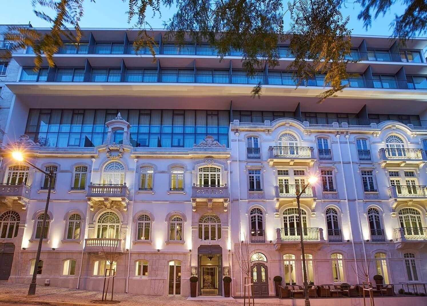 Hotel PortoBay Liberdade - Lisbon - Facade