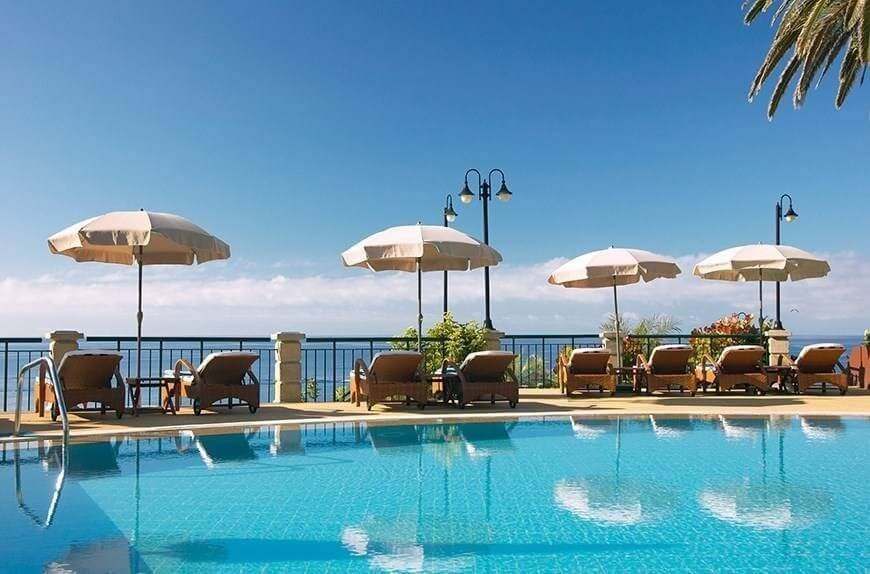 Hotel The Cliff Bay - Madeira Island - Pool